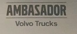 Ambassador of Volvo Trucks